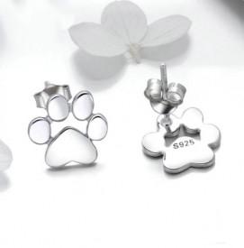 Cercei din argint Silver Paws ARG75B