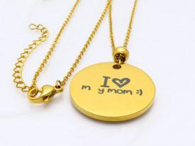 Lant Dama Inox - I Love you Mom-- cod LC304U