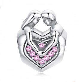 Charm Argint 925 - LOVE HEART- cha1064