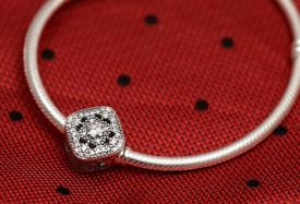Charm Argint 925 -Piatra Transparenta- CHA1041