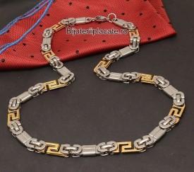 Lant Inox Auriu Argintiu Model Versace L17