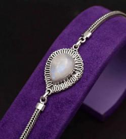 Bratara Din Argint -Piatra Lunii-Arg354