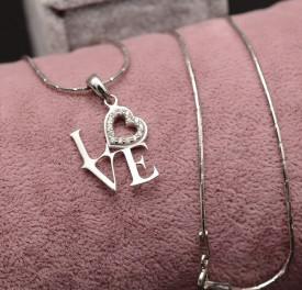 Colier din argint Love&Love ARG273
