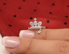 Inel Argint --COROANA KING-- Femei ARG72