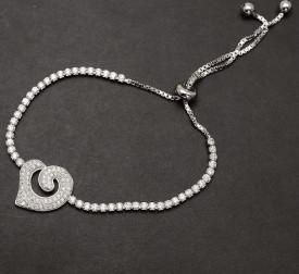 Bratara Din Argint --SPECIAL HEART- ARG207