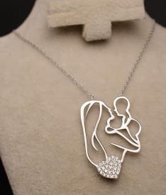 Colier din argint Happy Mom Arg153A