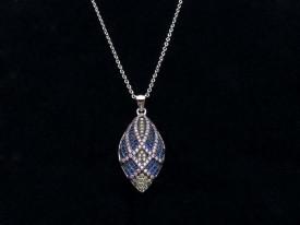 Colier Lantisor Din Argint -- MULTICOLOR --ARG231