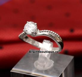 Inel Argint 925 DAMA CZ COD ARG132