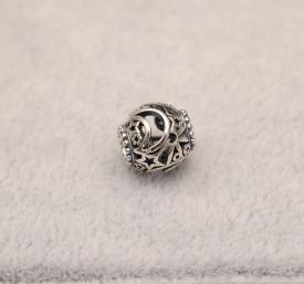Talisman din argint Luna&Stea- CHA1003