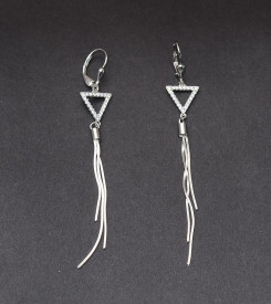Cercei Din Argint Lungi -cod ARG328
