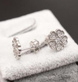 Cercei Din Argint - Simple Love- cod ARG272