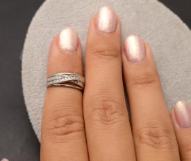 Inel Argint Reglabil Pentru Degetar-ARG36A