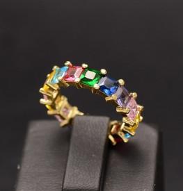 Verigheta Inox Multicolora Aurie Pentru Femei Cod IF648G