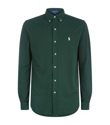 Cotton Piqué Shirt for men