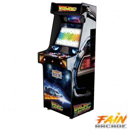 Cabinet Arcade Back to The Future Delorean 5.000 GAMES