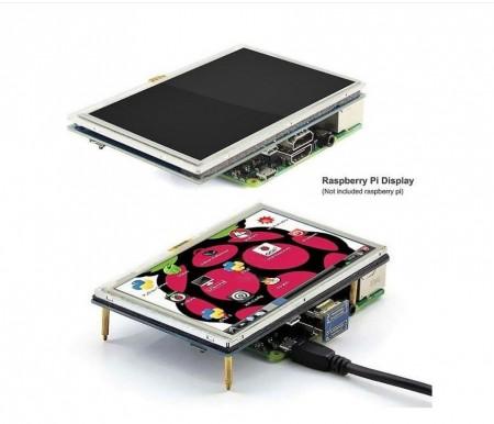 Poze Display touch screen 5 inch Raspberry Pi 3 800x480