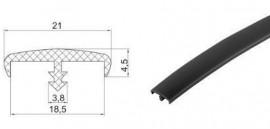 Poze Bordura PVC negru