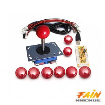 Poze Kit Arcade 1Player Raspberry pi/PC/PS3.