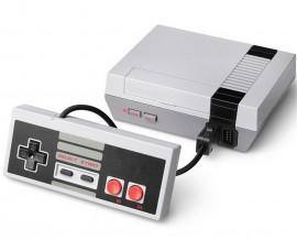 Poze Consola retro 8-bit 620 jocuri Entertainment System NES replica