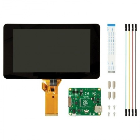 Poze Raspberry Pi Display LCD cu Touchscreen 7""