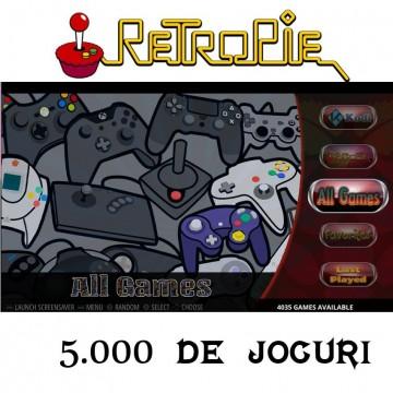 Poze Kit Raspberry Pi 3 cu 5000 jocuri