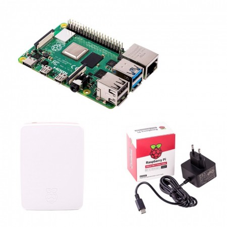 Kit Placa de baza Raspberry Pi 4 Model B/4GB