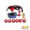Kit Arcade 1Player Raspberry pi/PC/PS3.