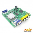 Placa convertoare CGA EGA YUV TO 2 X VGA