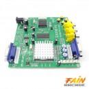 Placa convertoare CGA EGA YUV TO 2 X VGA