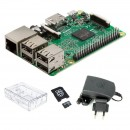 Kit Raspberry Pi 3 Model B+ PLUS card micro SD 16GB Kingstone