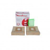 Set saci + filtru hepa + filtru motor aspirator Moulinex