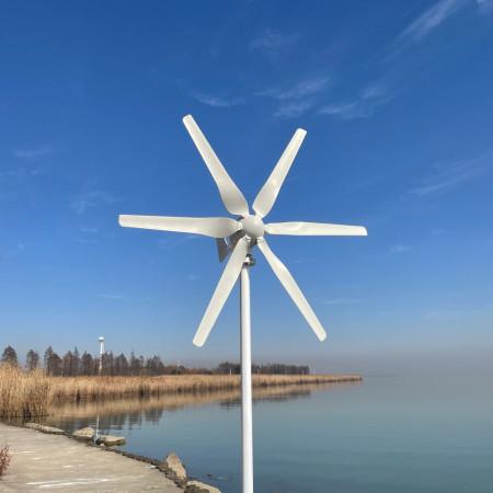 Turbina eoliana 12V 800w cu controler MPPT