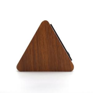 Ceas model triunghi - culoarea lemnului