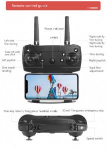 Drona Dual camera Quadcopter - camera 4K