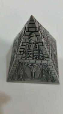 PIRAMIDE din antimoniu cu simboluri de protectie images