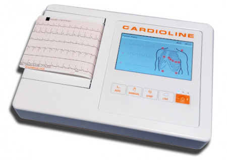 Slika Dostupno Cardioline 100L-6 . kanalni EKG aparat