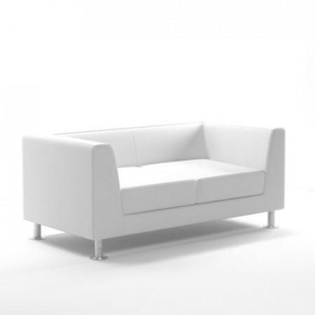 Slika Waiting room sofa / 2-person / design PRADO