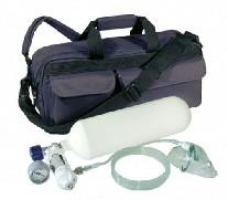 Slika Dostupna Medicinska Kiseonik Boca sa Dodacima Komplet Set spreman za upotrebu