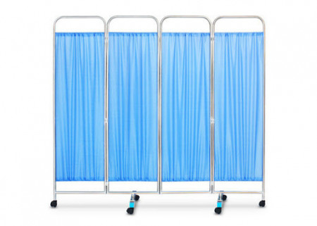 Slika Medicinski Paravan4. dela,Medical Folding Stainless Steel 4- Part Ward Screen For Hospita