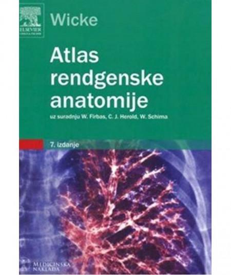 Slika Atlas rendgenske anatomije Lothar Wicke