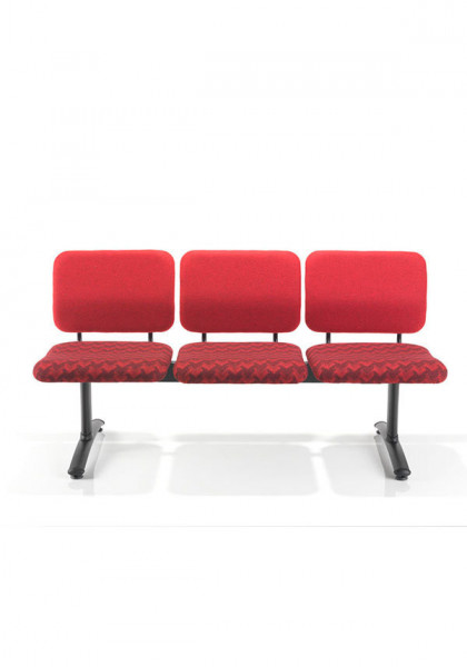 Slika Stolice za cekaonicu VL12 3 seat beam, freestanding, silver frame