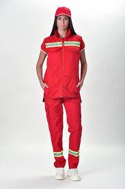 Slika Zenska uniforma za hitnu pomoc i urgentnu mrdicinu reflektujuca bluza i pantalone