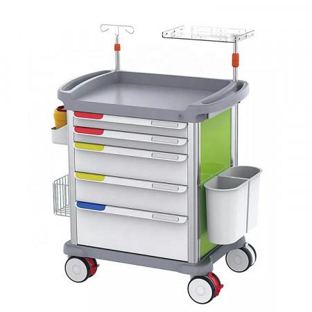 crash anaesthesia trolley cart