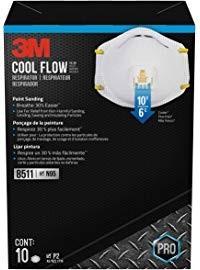 Slika 3M- Jednokratne maske u beloj boji