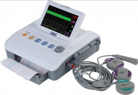 "Slika CTG Aparat Net JPD 600 p 7"" Ekran, Medicinski CTG aparat"