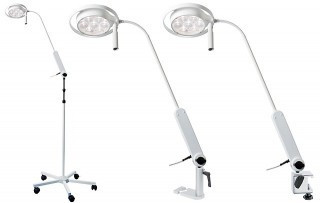 Slika Efficient. The Mach LED 115 m, Visenamensa LED hirurska lampa na stalku