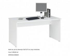 Slika White Uni radni sto za medicinsku ordinaciju