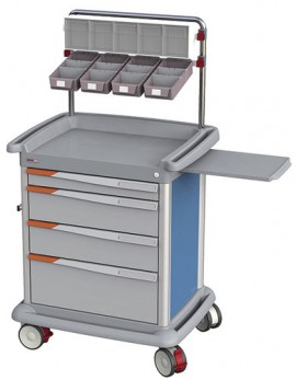 Slika Kolica za Anesteziju FranceHopital PRE8AP
