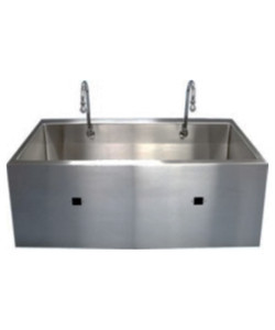Slika ES Series Dual Bay Economy Sink W/ Infrared Operated Water