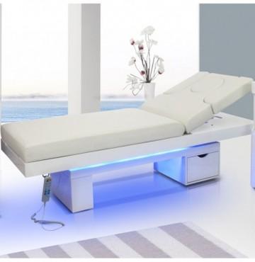 Slika White light Krevet za ordinaciju beli, pozadinsko osvetljenje